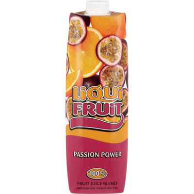 LiquiFruit Fruit Juice Blend Passion Power 1lt