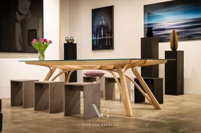 ORCHID TABLE, Designtisch von Jon Lister