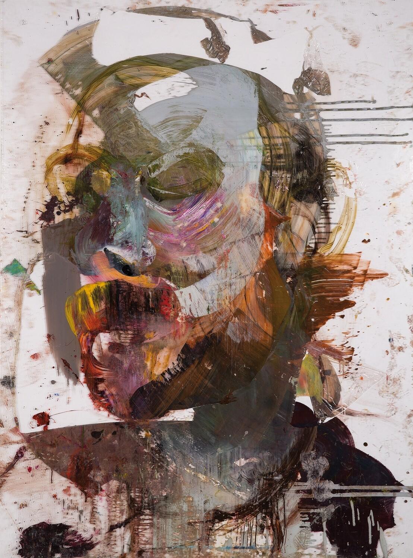 Michal Czuba, Study of an Autoportrait 10, 2017