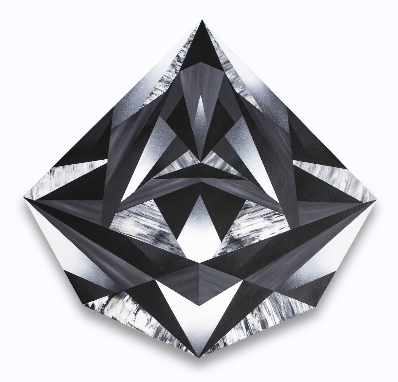 David Hocko, Crystal Reflections, 2019