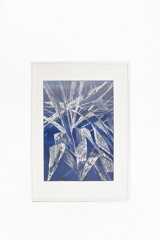 Magda Chmielek, Blue Leaves, 2020