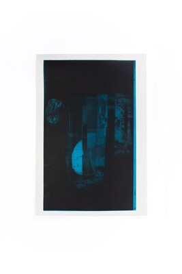 Marlena Biczak, Fragmentacja snu (z cyklu Półmrok), 2020