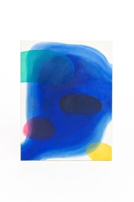 Magdalena Szilke, Blue II (z cyklu Cienie), 2020