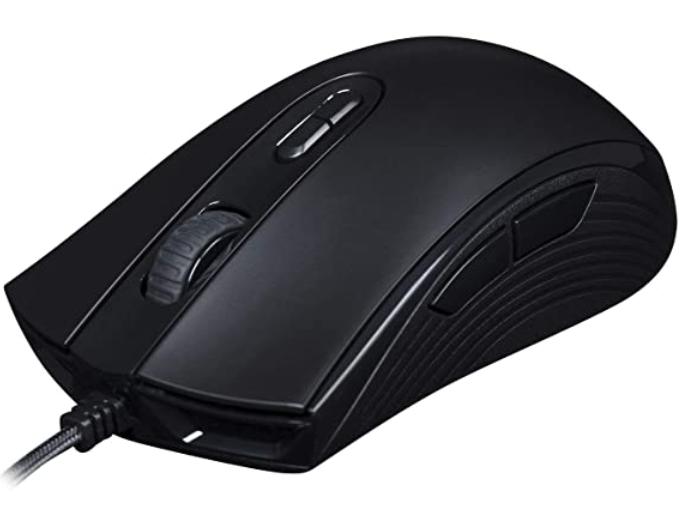 HYPERX PULSEFIRE CORE  Gaming Mouse  - Efectos de luz RGB controlados por software - hasta 6200 DPI - 7 botones programables