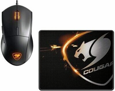 Cougar Combo Mouse y Pad Cougar Minos X2 3000 DPI Sensor óptico - Gaming