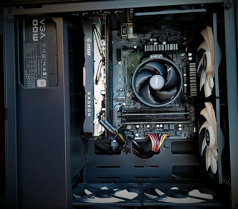 Nuclear Classic - AMD Ryzen 5 1600 AF - GTX 1650 Super - 16GB RAM 3200 Mhz - NVMe SSD 512GB (3,500 MB/S)