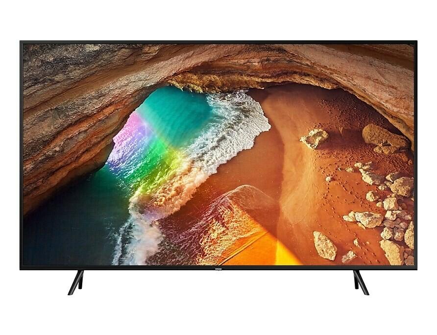 "Samsung - 65"" Q60R QLED Flat Smart TV 4K"