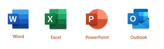Microsoft Office Home & Business 2019 - Word - Excel - PowerPoint - Outlook
