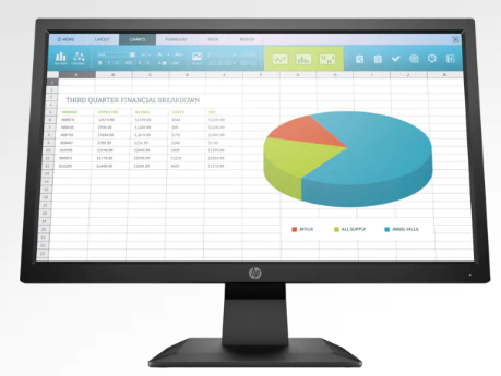 Monitor HP P204 de 19.5