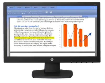 Monitor HP V194 de 18.5