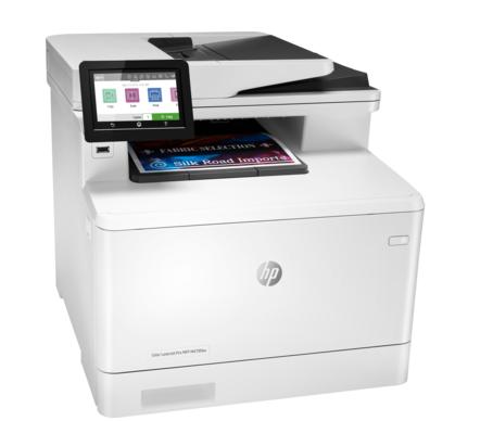 HP Impresora multifunción Color LaserJet Pro M479fdw