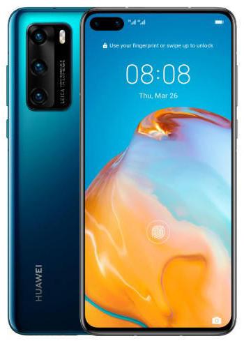 Huawei P40 - Desbloqueado - Deep Blue - DUAL SIM