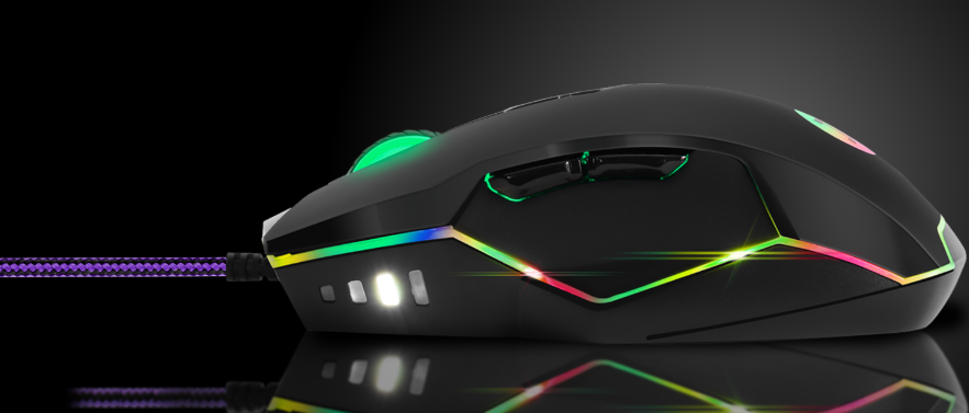 Primus Mouse Gaming - Gladius 1600P - USB - Mano derecha