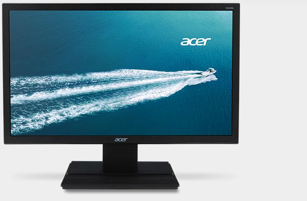 """Acer Monitor V206HQL Widescreen LED  de 19.5""""  - VGA-HDMI - Negro - HD"""