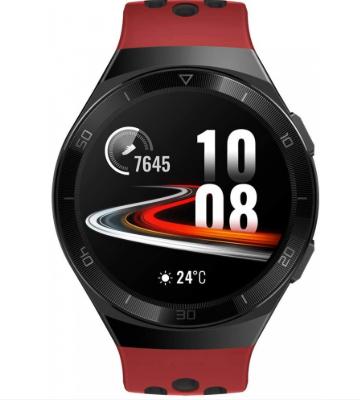 Huawei - GT2 e B19R Sport - Smart watch - AMOLED GPS Sports Mode - HeartRate - SpO2 Monitoring - Music - 5 ATM Resistente al Agua - Rojo