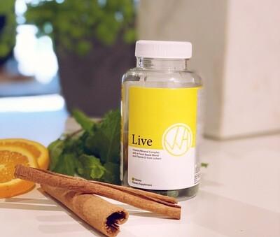 Live, Vegan Multi-Vitamin