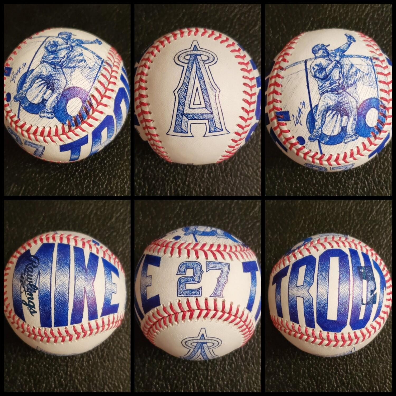 Custom MLB Baseball