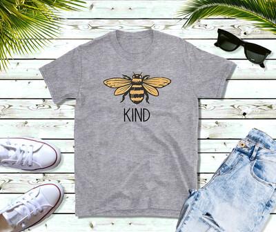 Bee Kind tshirt, free shipping