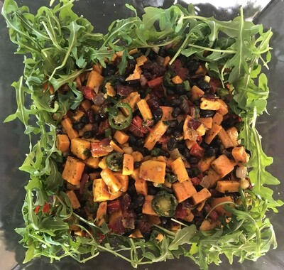 SALAD : FALL HOLIDAY GREENS   |  10-12 side servings   |   GF  |  DF  |   ALK FAVORITE'S LIST