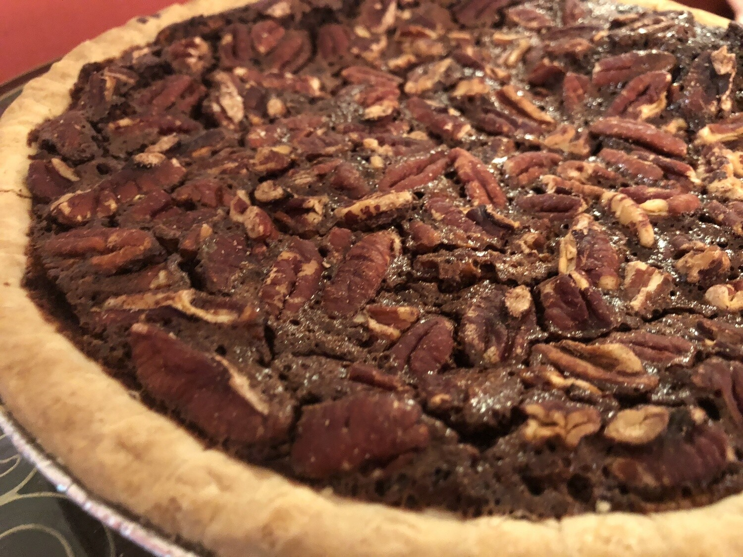 "SWEET TREAT : TRADITIONAL PECAN PIE   |    GF   |   DF      |   9"" pie   