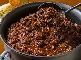 SOUP : CHILI  CON CARNE | Sold by quart