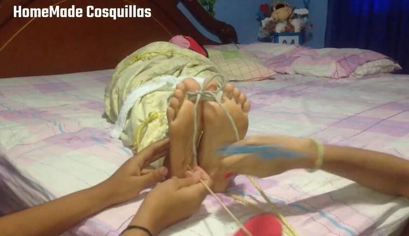 Maria mummified tickle
