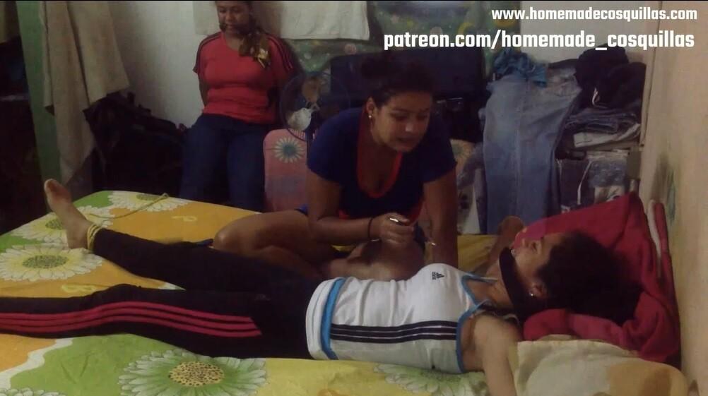 Sister tickle challenge. Daniela