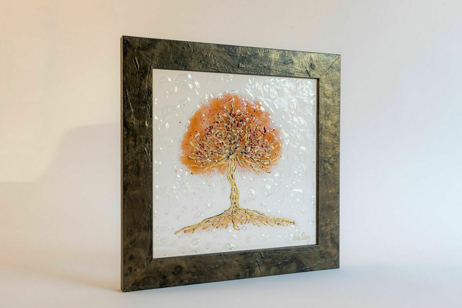 'Tree of Life' in rosegold & gold