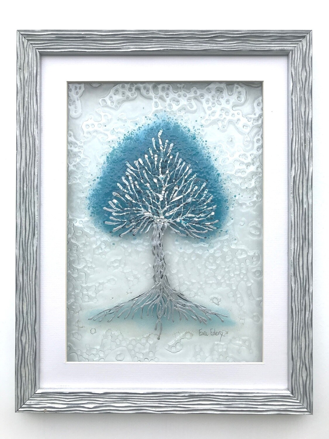 'Tree of Life' in turquoise & silver