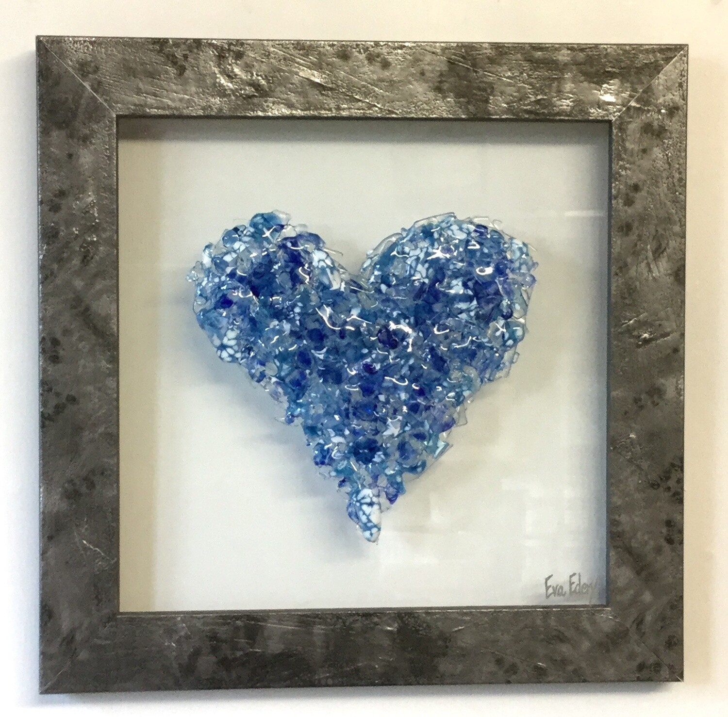 Heart Beat in Blue Hues