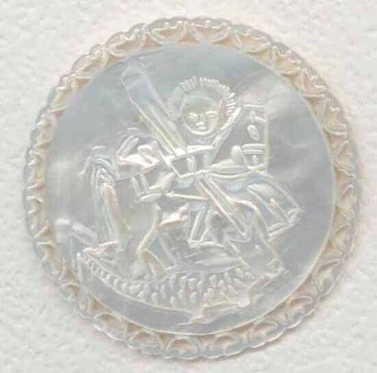 Bethlehem Pearl, St. George and Dragon