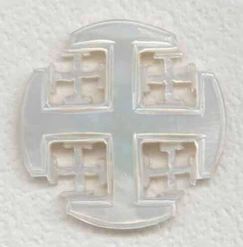 Bethlehem Pearl, Jerusalem Cross