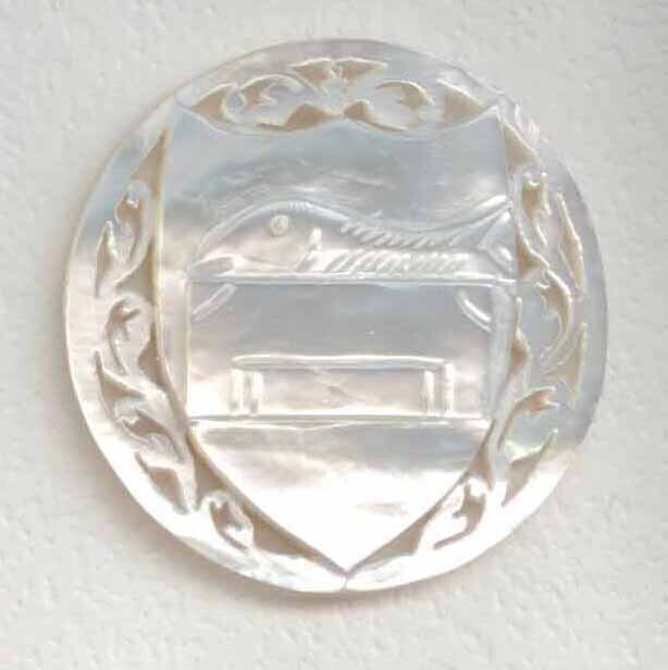 Bethlehem Pearl, Shield and Symbol for Simon the Zealot