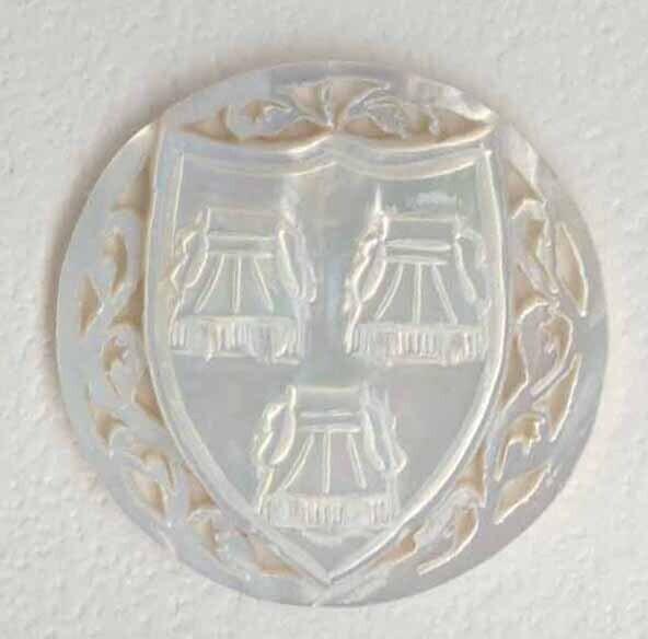 Bethlehem Pearl, Shield and Symbol for Matthew