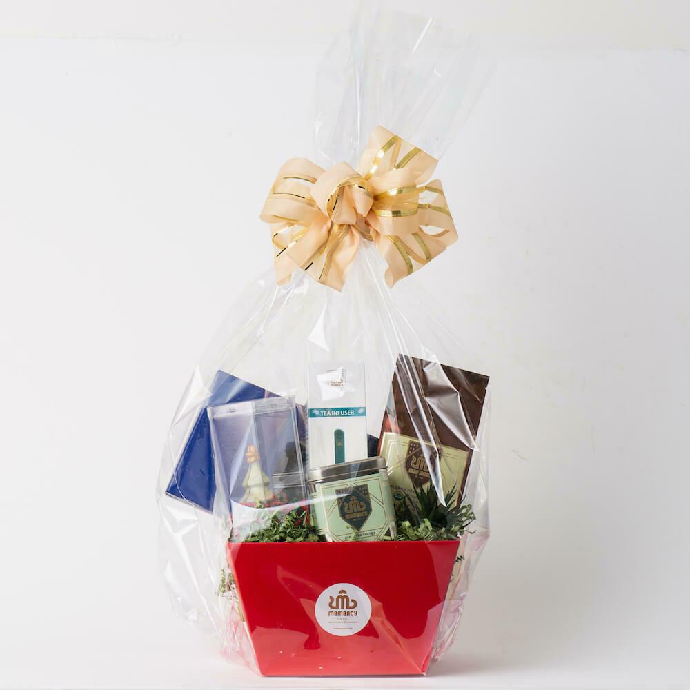 Deluxe Tea & Chocolate Gift Basket
