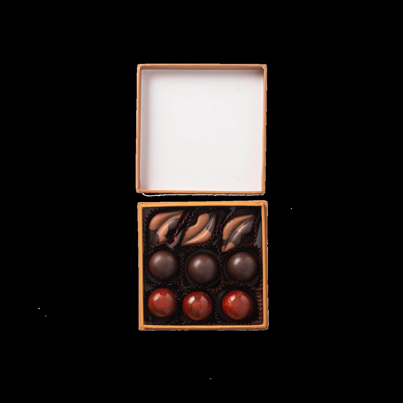4 Piece Chocolate