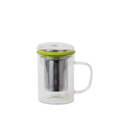 Glass Cup w/infuser
