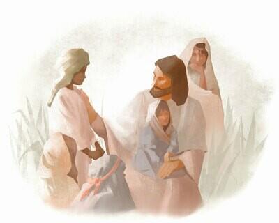 Christ Teaching the Children