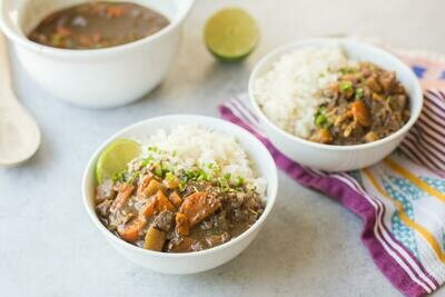 Japanese Beef/Chicken/Tofu Curry and Rice or Quinoa