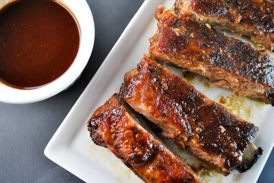 Carlsbad BBQ Maple Ribs with Sweet Potatoes