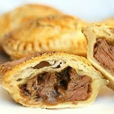 Puffed Pastry Savory Guiness Irish Beef Pies - 6 Hand Held's or 4 Pot Pie's