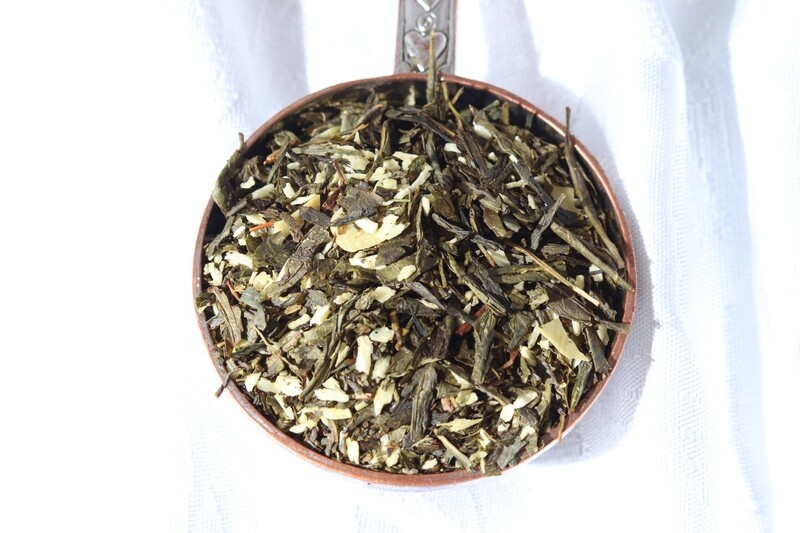 Almond Cookie Green Tea