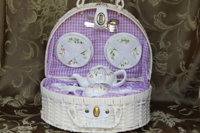 Fairy Porcelain Children's Tea Set