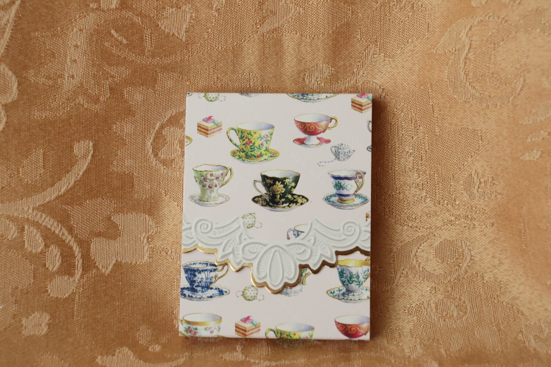 Teapot Purse Pad