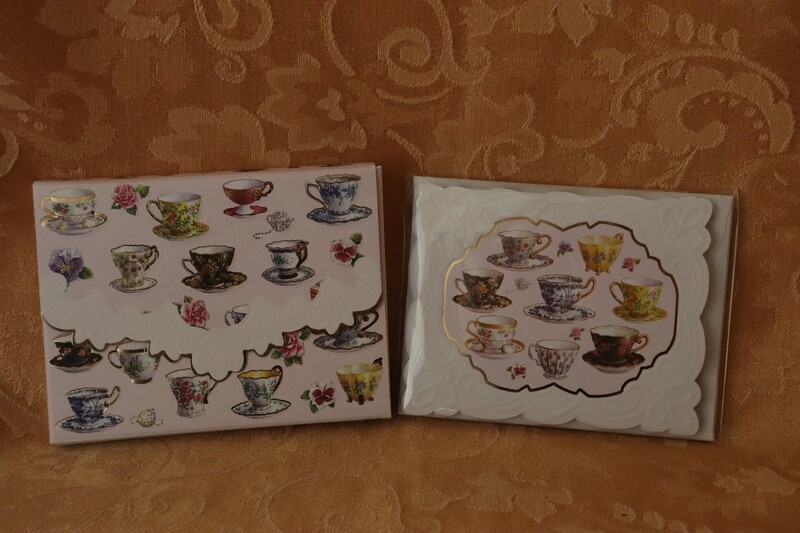 Teacup Note Card Set