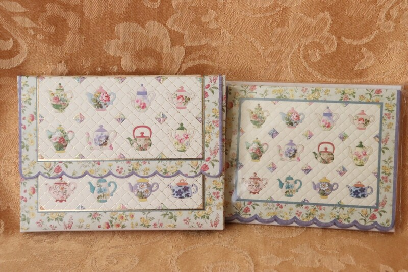 Teapot Note Card Set
