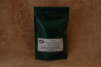 Yuletide Tea in a Holiday Package