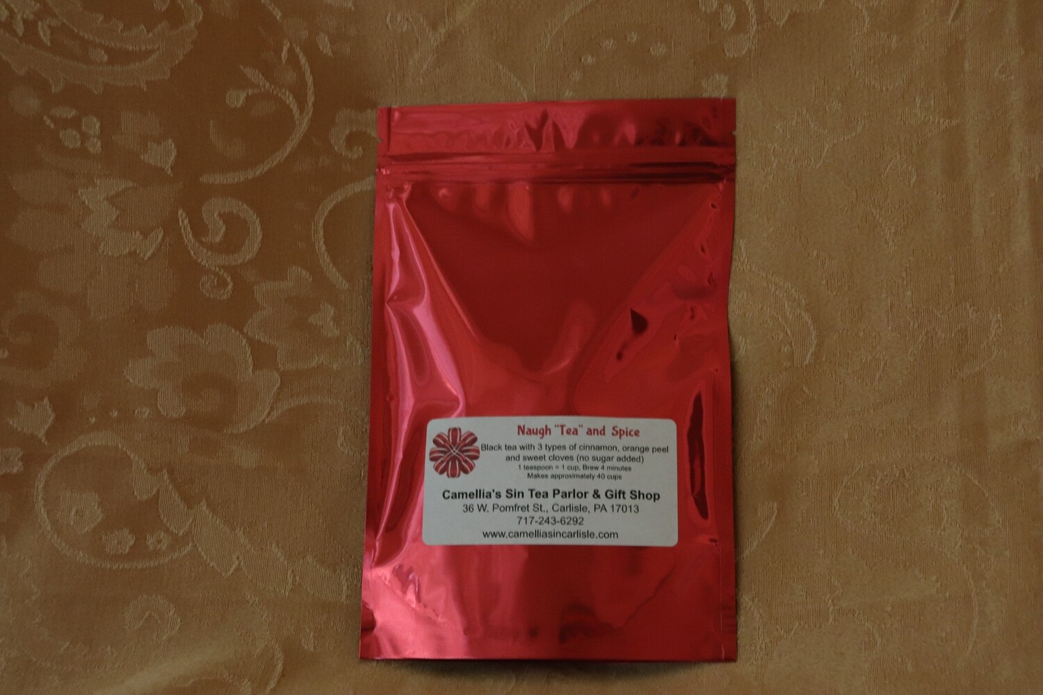 """Naugh """"Tea"""" and Spice in a Holiday Package"""