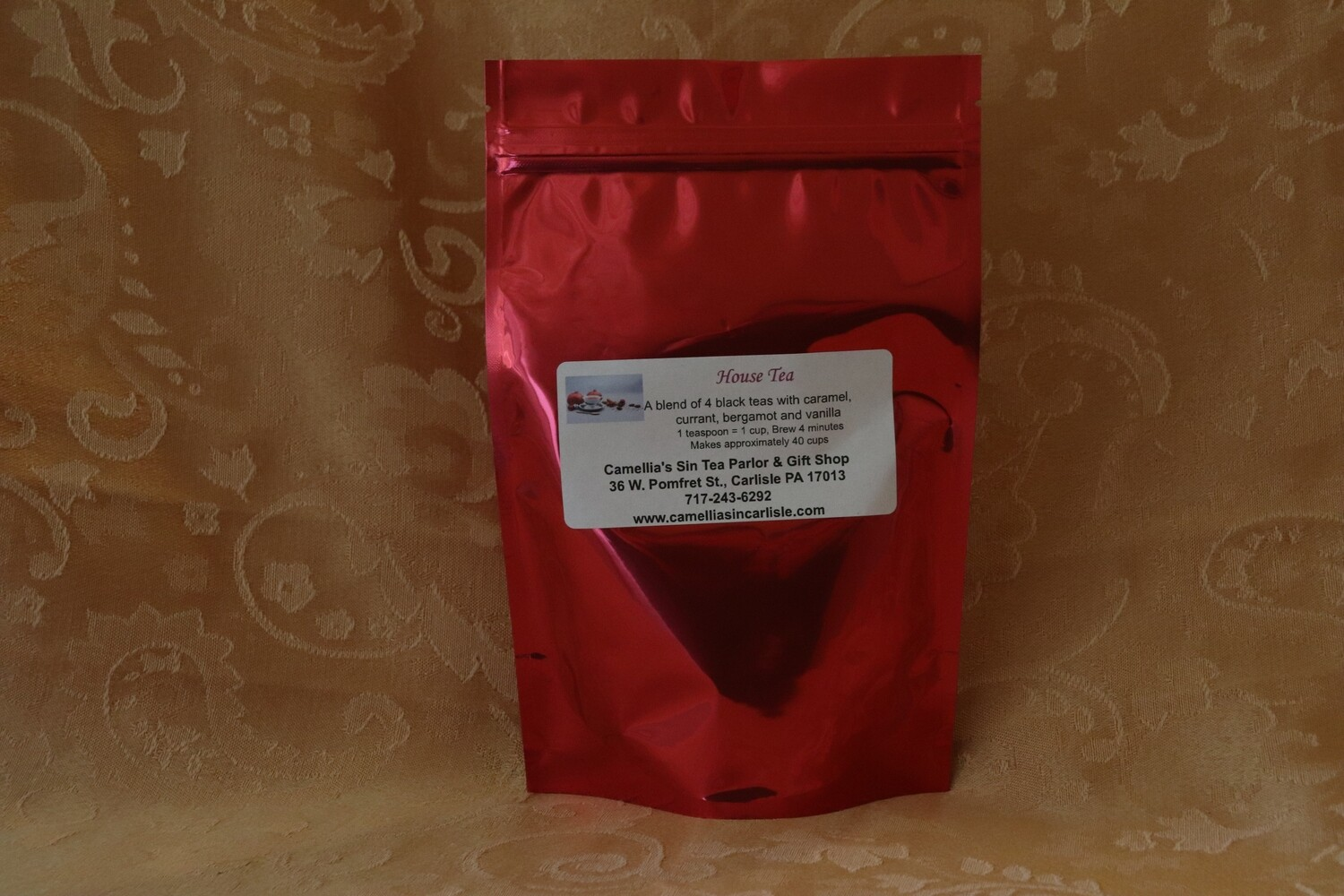 Christmas House Tea in a Holiday Package