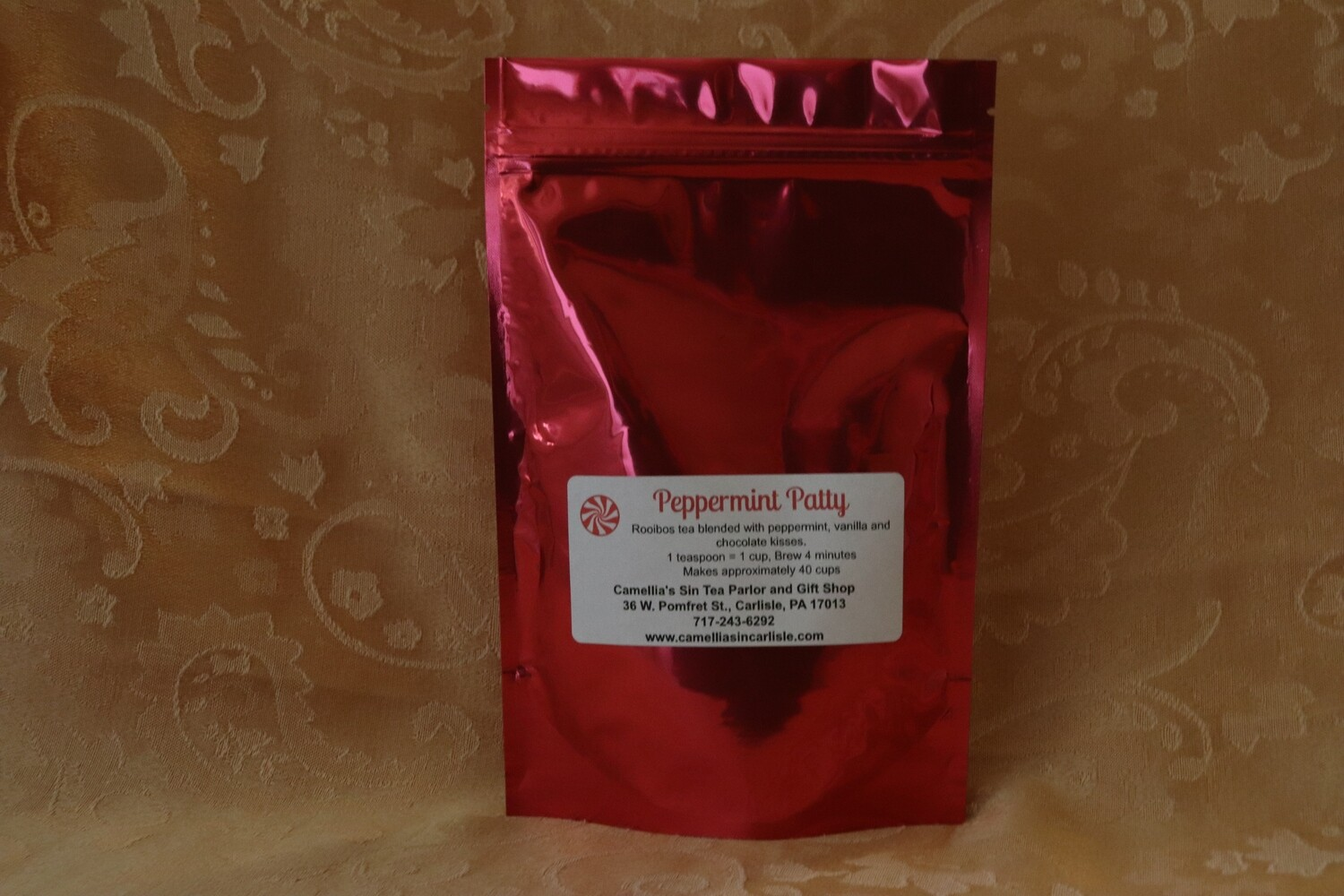 """Peppermint Pat""""Tea"""" in a Holiday Package"""